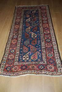 tapis ancien du caucase quotgendjequot 230cmx110cm tapis With tapis du caucase