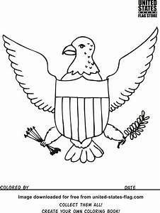 Pennsylvania State Flag Coloring Page Avaboard