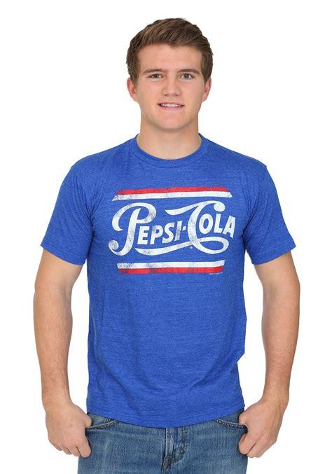 pepsi cola vintage logo men 39 s t shirt
