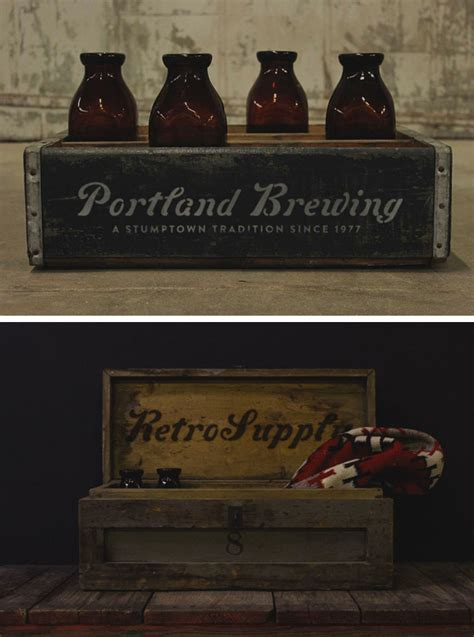 The biggest source of free photorealistic bottle mockups online! Free Artisan Bottle Case Mockup in PSD - DesignHooks