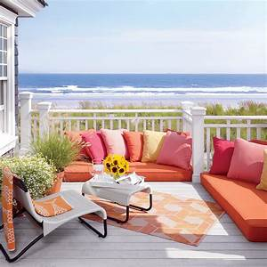 20 Ways to Decorate with Orange and Yellow - Coastal Living