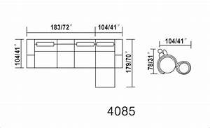 Dimensions of a sectional sofa cleanupfloridacom for Sectional sofa height