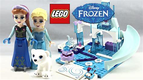 lego disney frozen and elsa s frozen playground