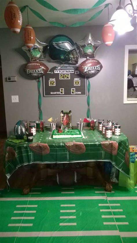 Philadelphia Eagles Birthday Party Ideas  Photo 3 Of 7