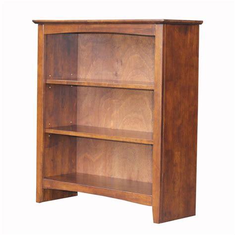 Hardwood Bookshelf by International Concepts 36 In H Espresso Bookcase
