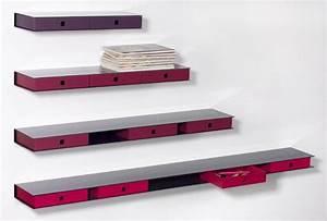Etagere Tiroir Suspendu : tiroir chevet suspendu maison design ~ Teatrodelosmanantiales.com Idées de Décoration