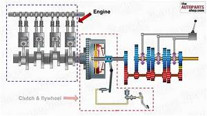 How Car Transmission System  Engine  Clutches  Gear Box