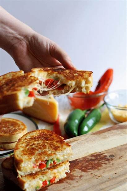 Cheese Grilled Roasted Jalapeno Sandwich Pepper Gouda