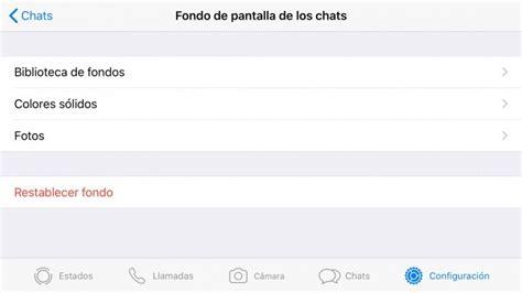como cambiar el fondo de whatsapp