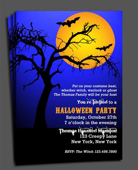 office halloween invitation wordings festival collections