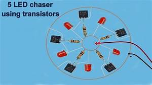 Led Chaser With Transistors Super Chasing