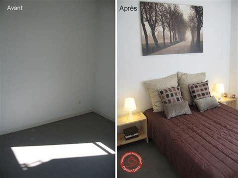logement vide chambre avant après photo de home staging