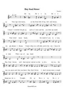 Hey Soul Sister Sheet Music