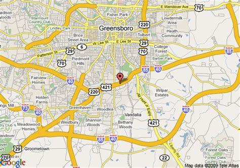 Map Of Super 8 Motel Greensboroeasti 85 Greensboro