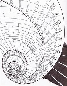 Spiral Staircase by bluehybun on DeviantArt