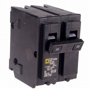 30 Amp Double Pole Breaker 120  240v