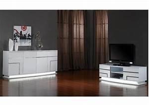 Meuble Salon Noir : meuble noir et blanc chic et intemporel le blog de vente ~ Teatrodelosmanantiales.com Idées de Décoration