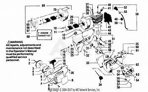 Poulan 5400 Gas Saw Parts Diagram For Power Unit