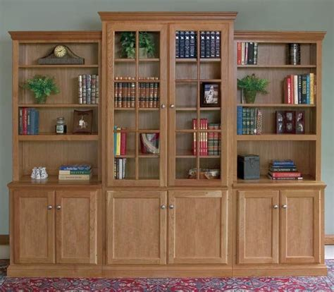 Unfinished Bookcases With Doors by Bookcases Unfinished Furniture