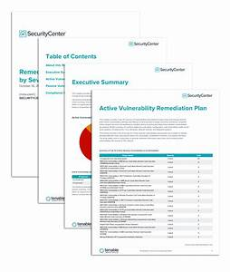 Remediation instructions by severity report sc report for Security remediation plan template