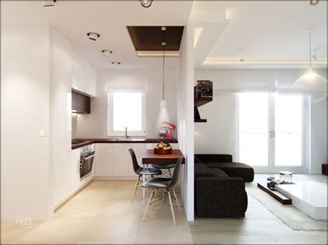 A 40 Square Meter Flat With A Clever And Spacious Interior