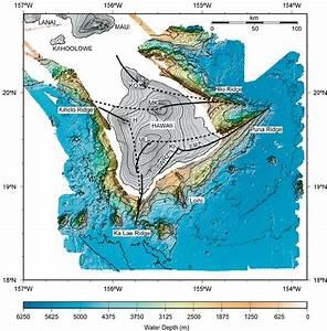Sea Floor Map Hawaii
