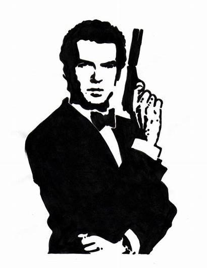 Clipart Bond James 1990 Deviantart Ad Clipground
