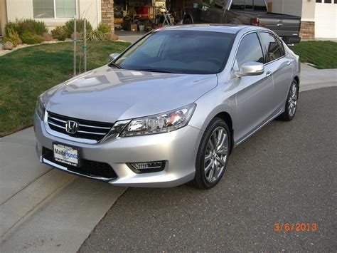2013 Accord Touring   Alabaster Silver   HFP's   Tint