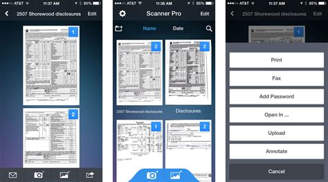 document scanner apps  iphone create search