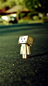 Lonely Box Man Close Up Android Wallpaper free download