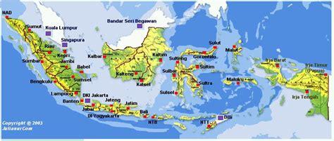 peta  provinsi indonesia gislearning