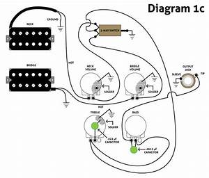 Guitar Tone Controls - Ptb Control Mod On Two Conductor Humbuckers