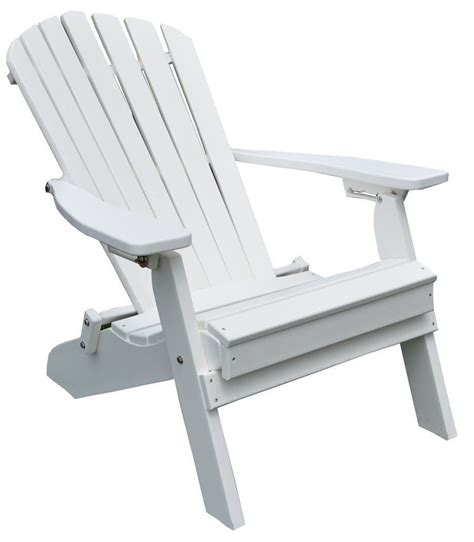 folding and reclining adirondack chair from dutchcrafters