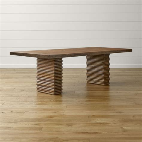 kitchen table and chair ii reclaimed wood dining table crate and barrel