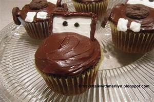 Travel Talk With Marilyn: Tow Mater Cupcakes Inspired by ...