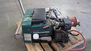 Cummins Onan Commercial 4500 Watt Rv Generator W