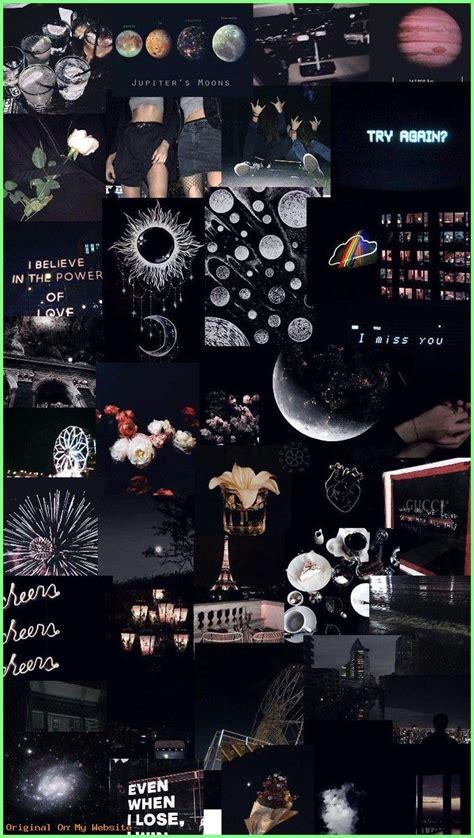 pastel black aesthetic wallpapers