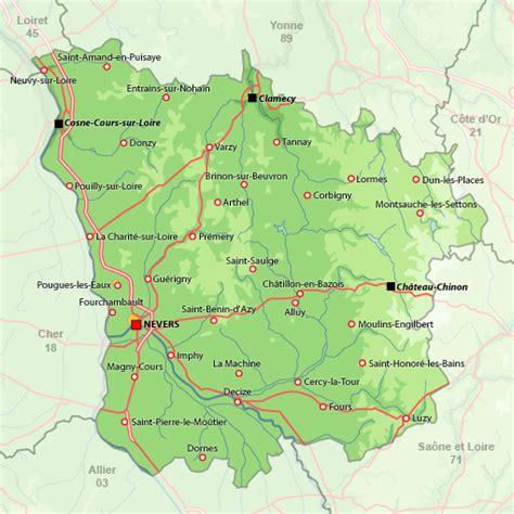 les chambres d hotes recherche cartographique d 39 une location de vacances nièvre