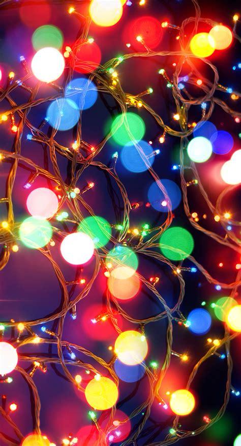 Christmas Lights Wallpaper To Celebrate Christmas On Pc