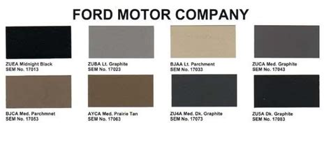 high quality ford interior paint 4 ford parchment