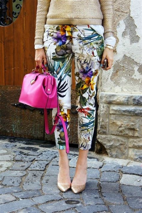 wear florals  patterns