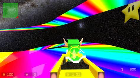 mgmariokartrainbowroad counter strike source maps mini game gamebanana