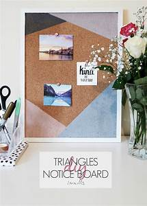 Diy, Triangles, Notice, Board, U2014, Isoscella