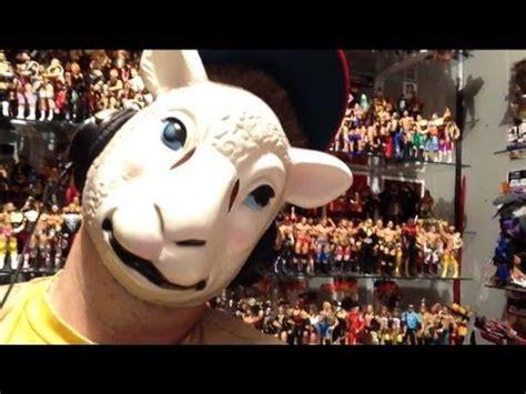 wyatt family sheep mask review  wwe shop great