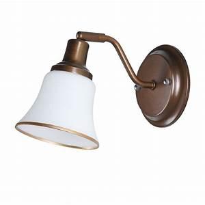 Wandlampen Aussen Landhausstil : wandleuchte wandlampe rustikal landhaus altmessing lampe ~ Michelbontemps.com Haus und Dekorationen