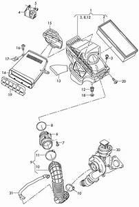 Audi A4 Mass Air Flow Sensor  Volume Air Flow  Air Mass