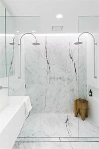 Marbre Salle De Bain : la salle de bain avec douche italienne 53 photos ~ Dailycaller-alerts.com Idées de Décoration