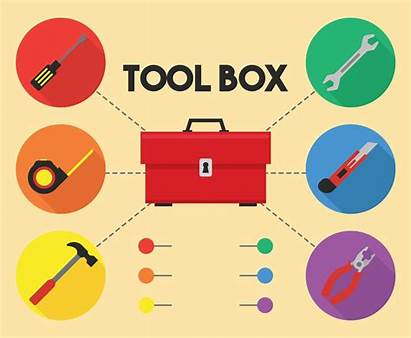 Toolbox Vector Tool Box Graphics Tools Freevector