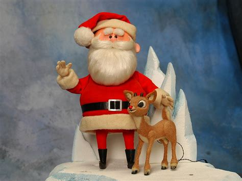 holiday horrors santa claus in rudolph the red nosed