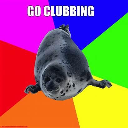 Seal Tragedy Meme Clubbing Memes Know